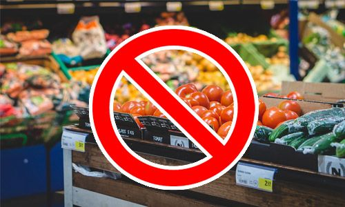 no to supermarket veggies