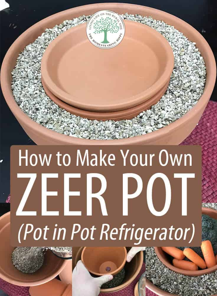 zeer pot pin