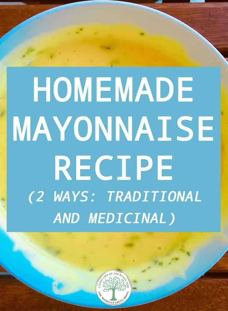 homemade mayonnaise pinterest