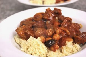 tagine with couscous
