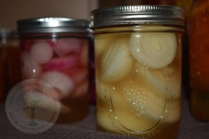 canned pickled onions