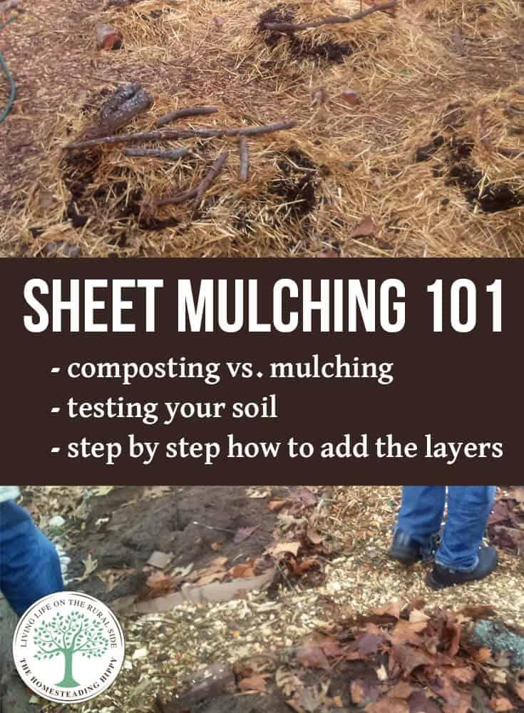 sheet mulching 101 pin