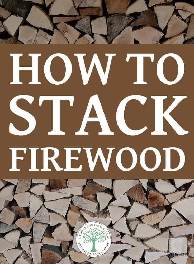 stacking firewood pin