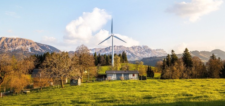 home using wind energy