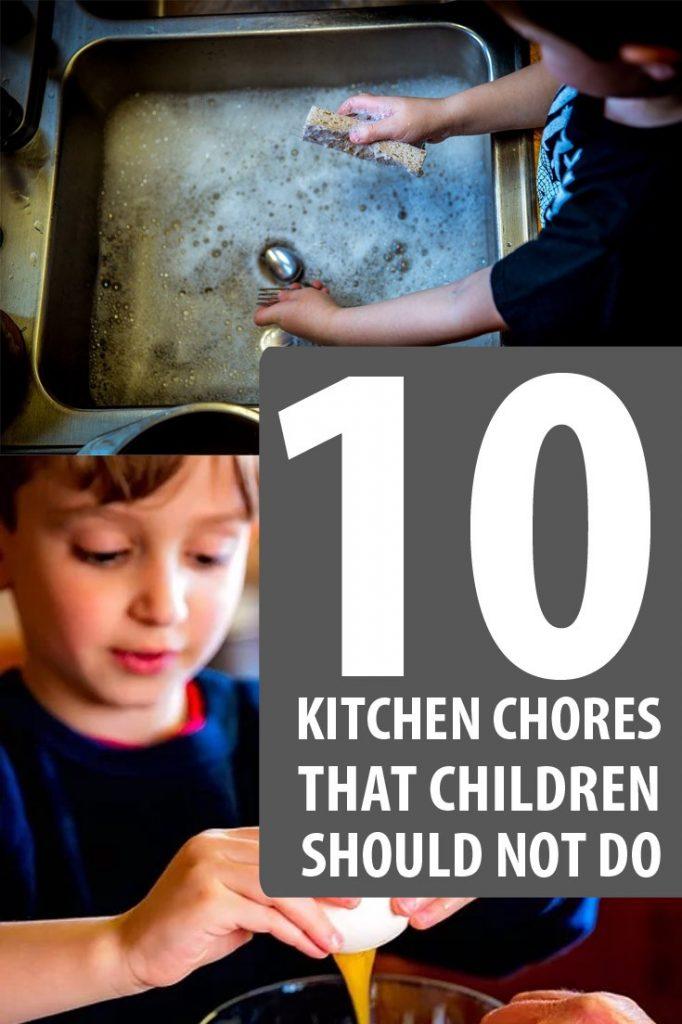 kitchen chores pin