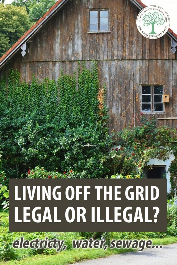 off grid legality pin