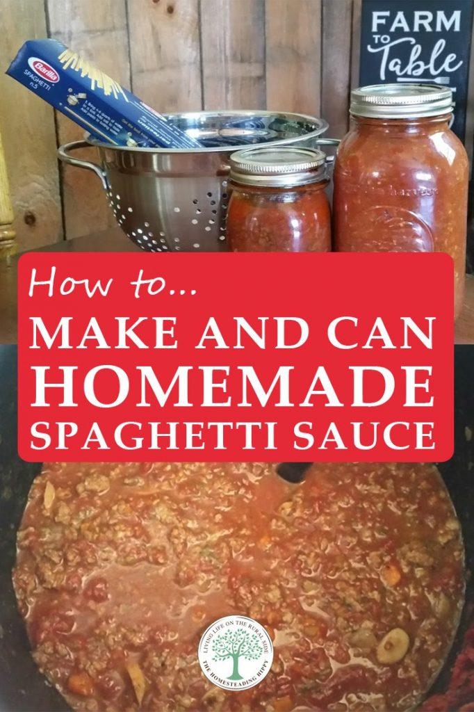 spaghetti sauce pin