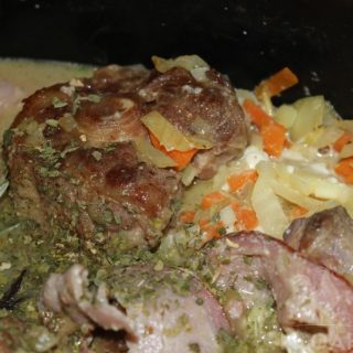 Oxtail soup with bacon thumbnail