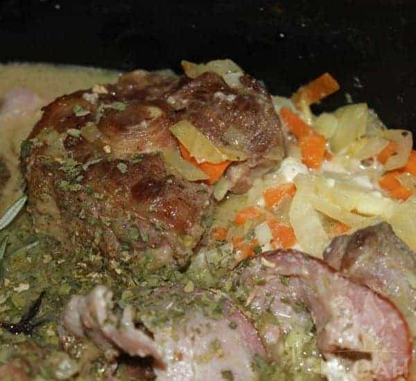 Delicious German Oxtail Soup With Bacon The Homesteading Hippy