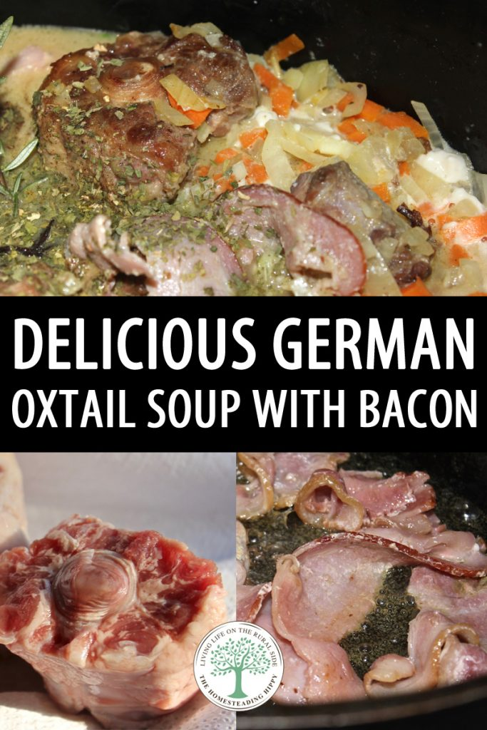German oxtail soup pinterest