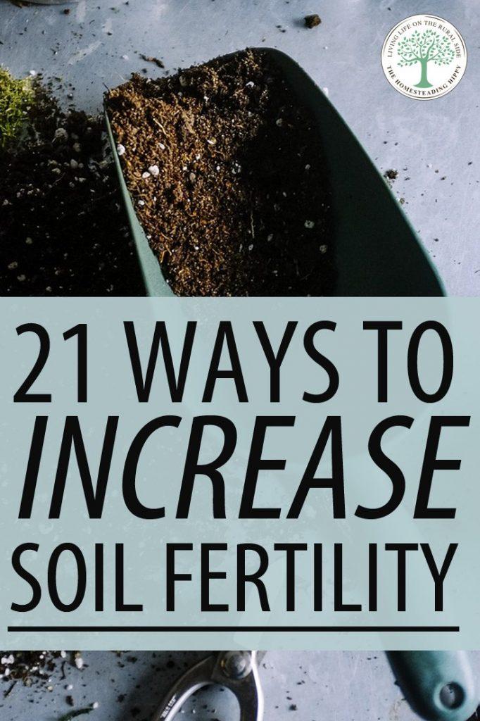 soil fertility pin