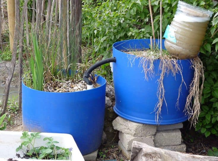 simple greywater system