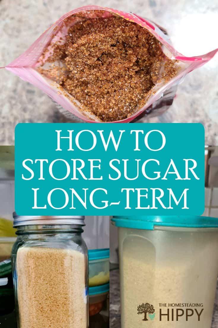 storing sugar pin