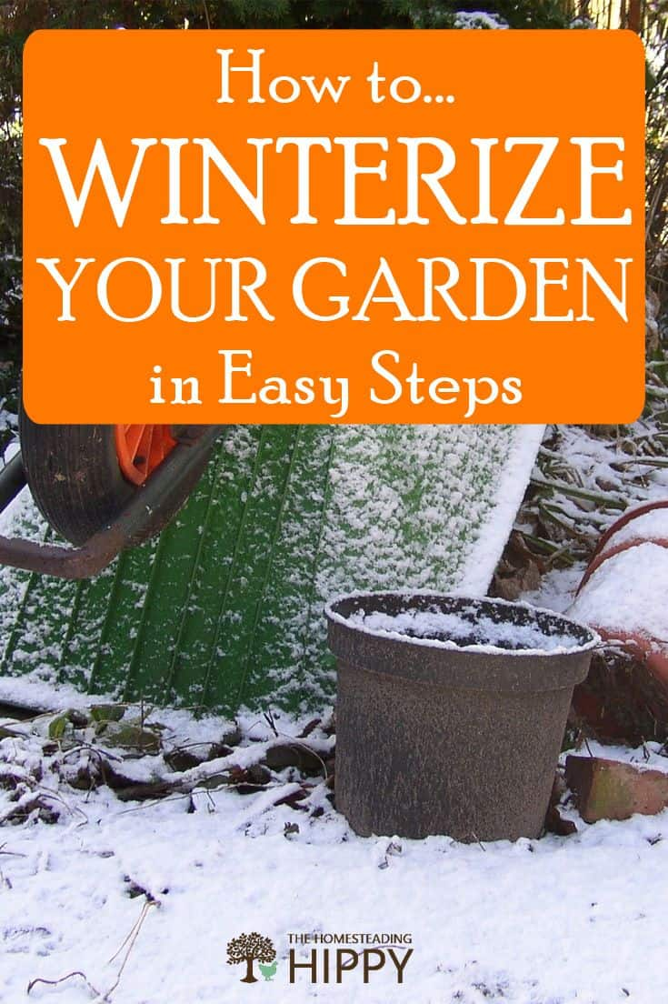 winterizing garden pin