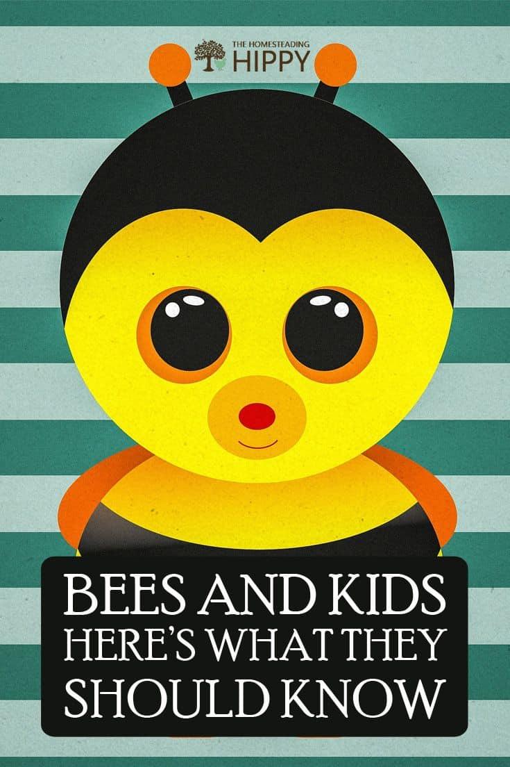 bees kids pin