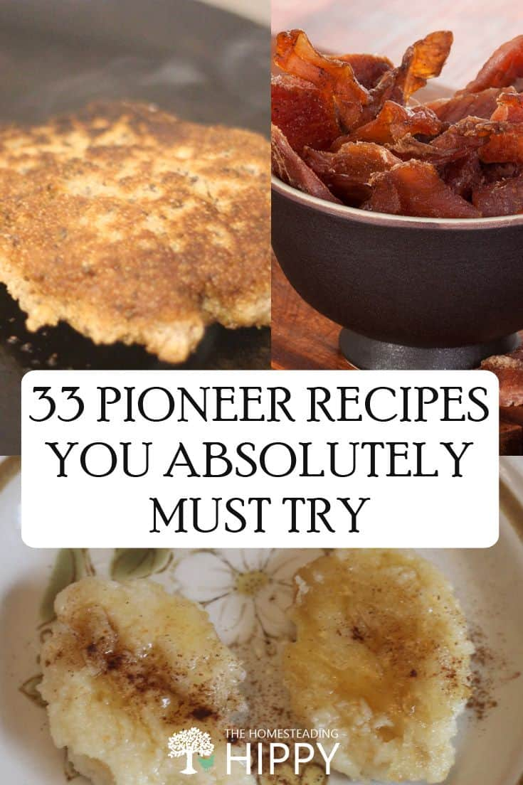 pioneer recipes pin