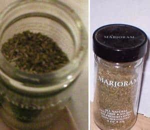 Majoram spice