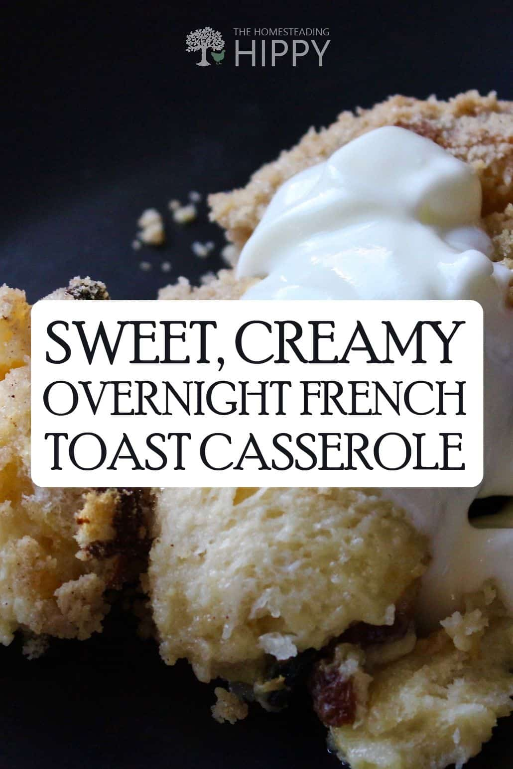 French toast casserole pin
