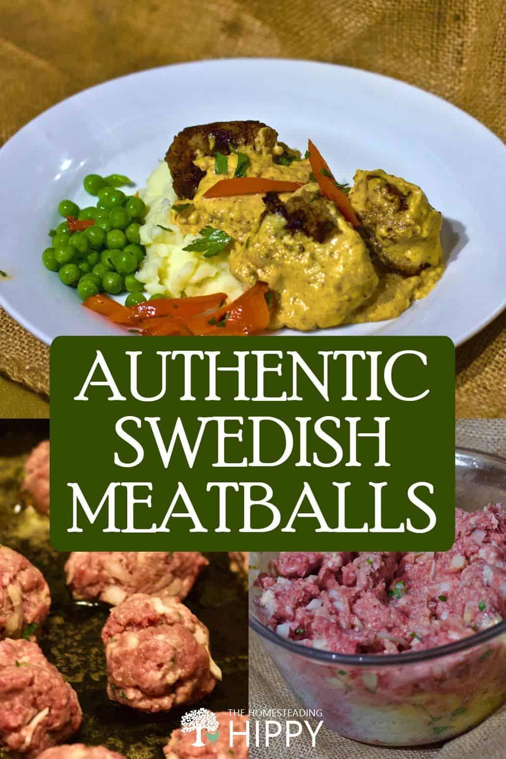 Swedish meatballs pin