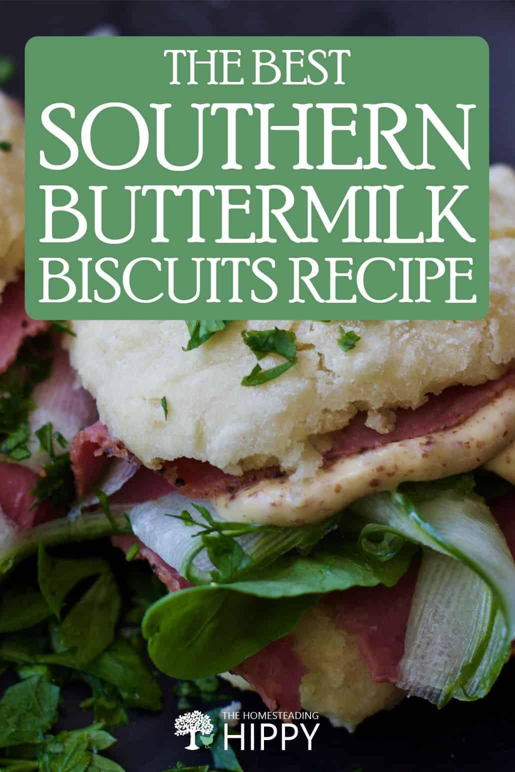 buttermilk biscuits pin