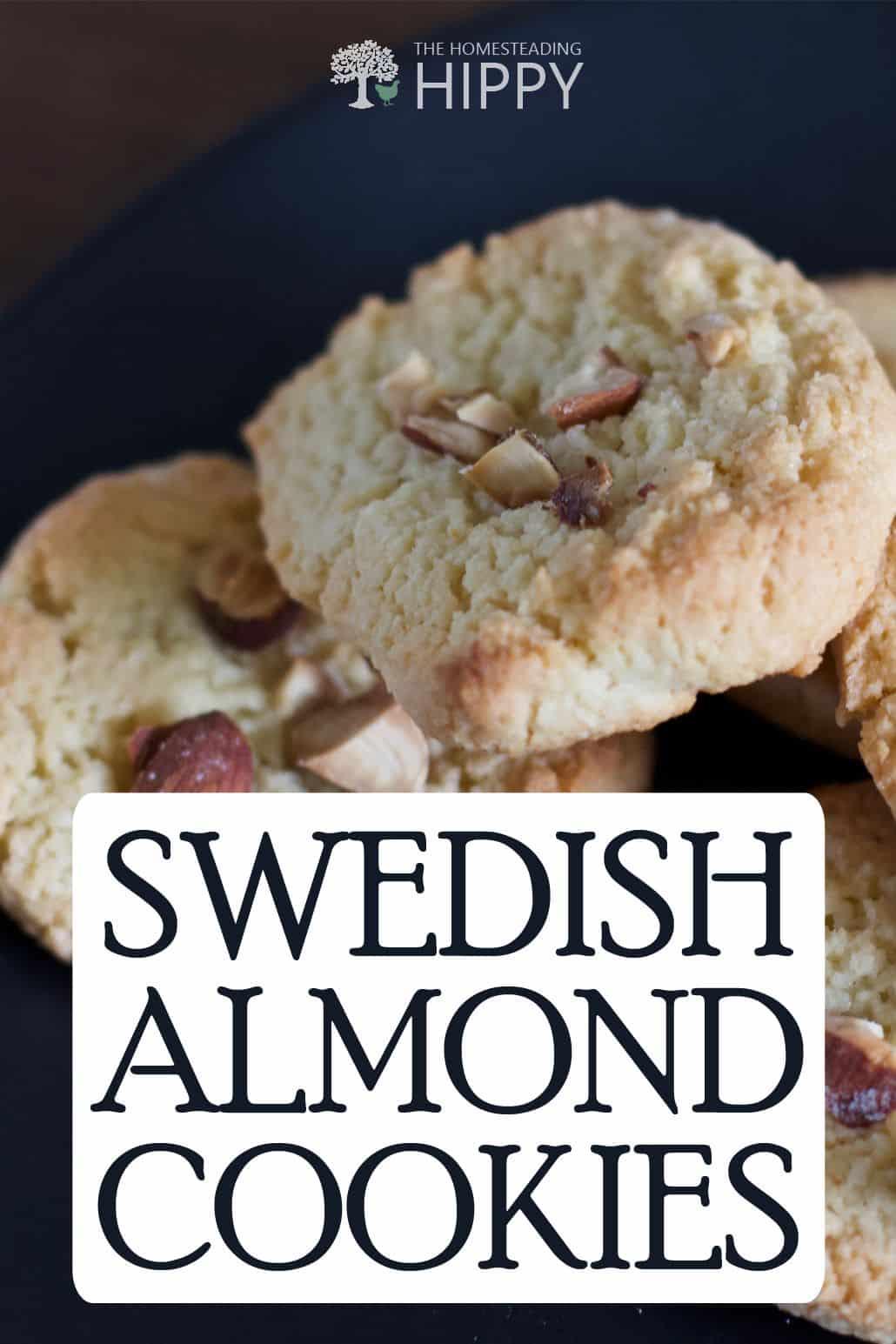 Swedish almond cookies pin