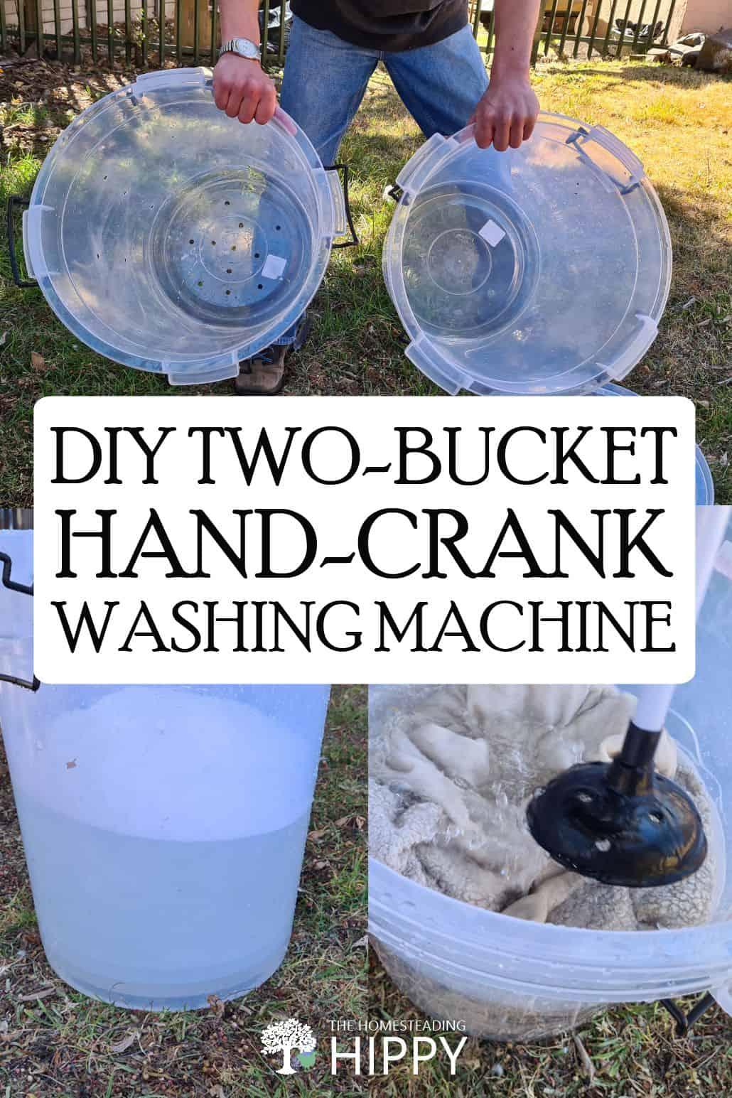 hand-crank washing machine pin image