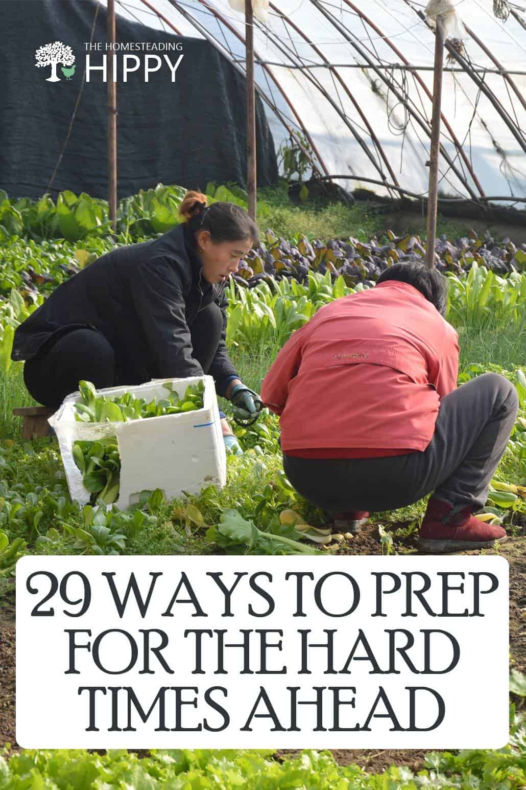 prep for hard times pin