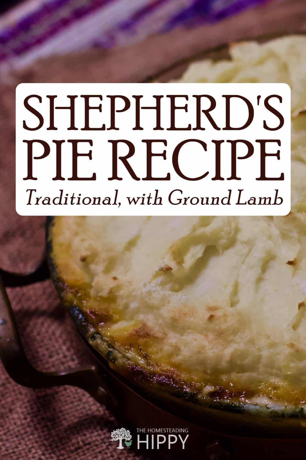 shepherd's pie pin