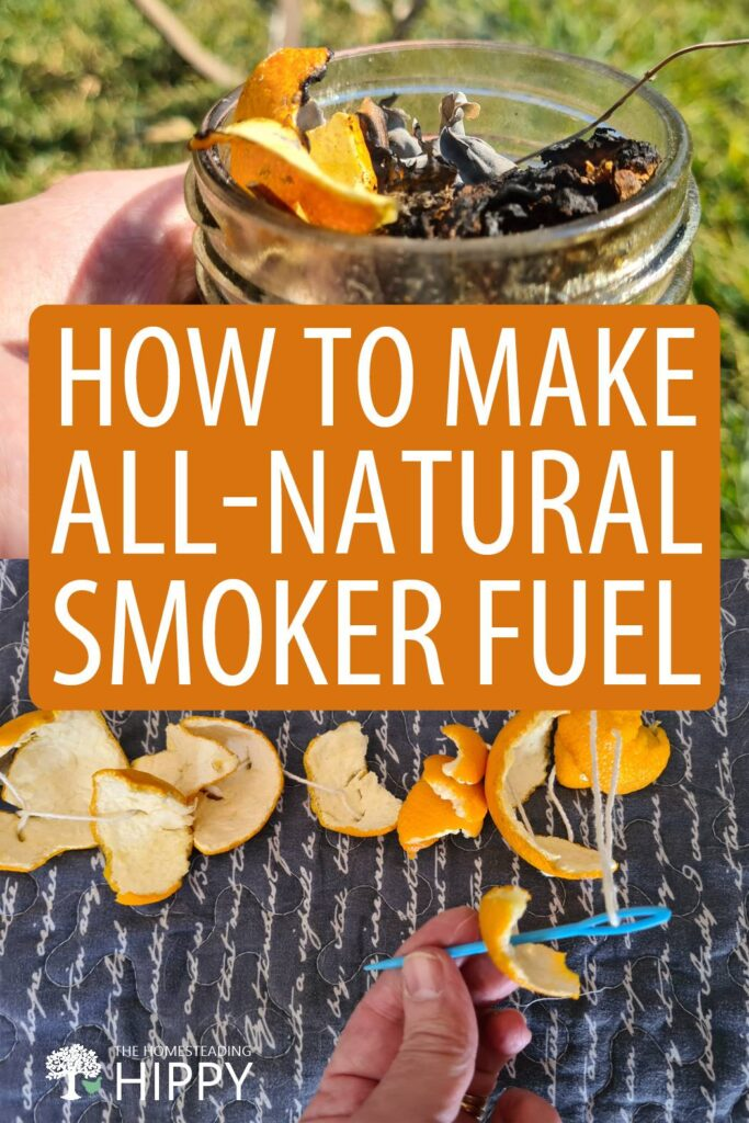 How to Make All-Natural Smoker Fuel
