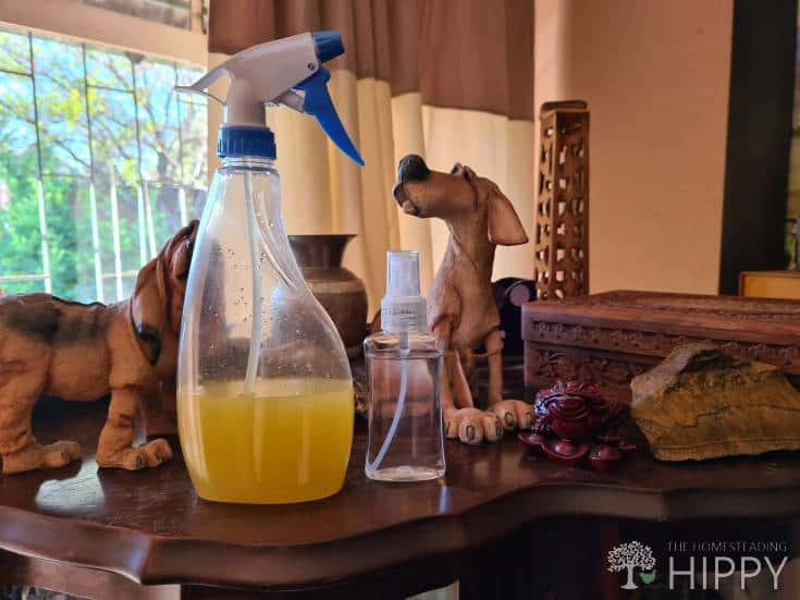 large spray bottle-with liquid air freshener inside