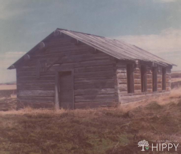 wooden pioneer house