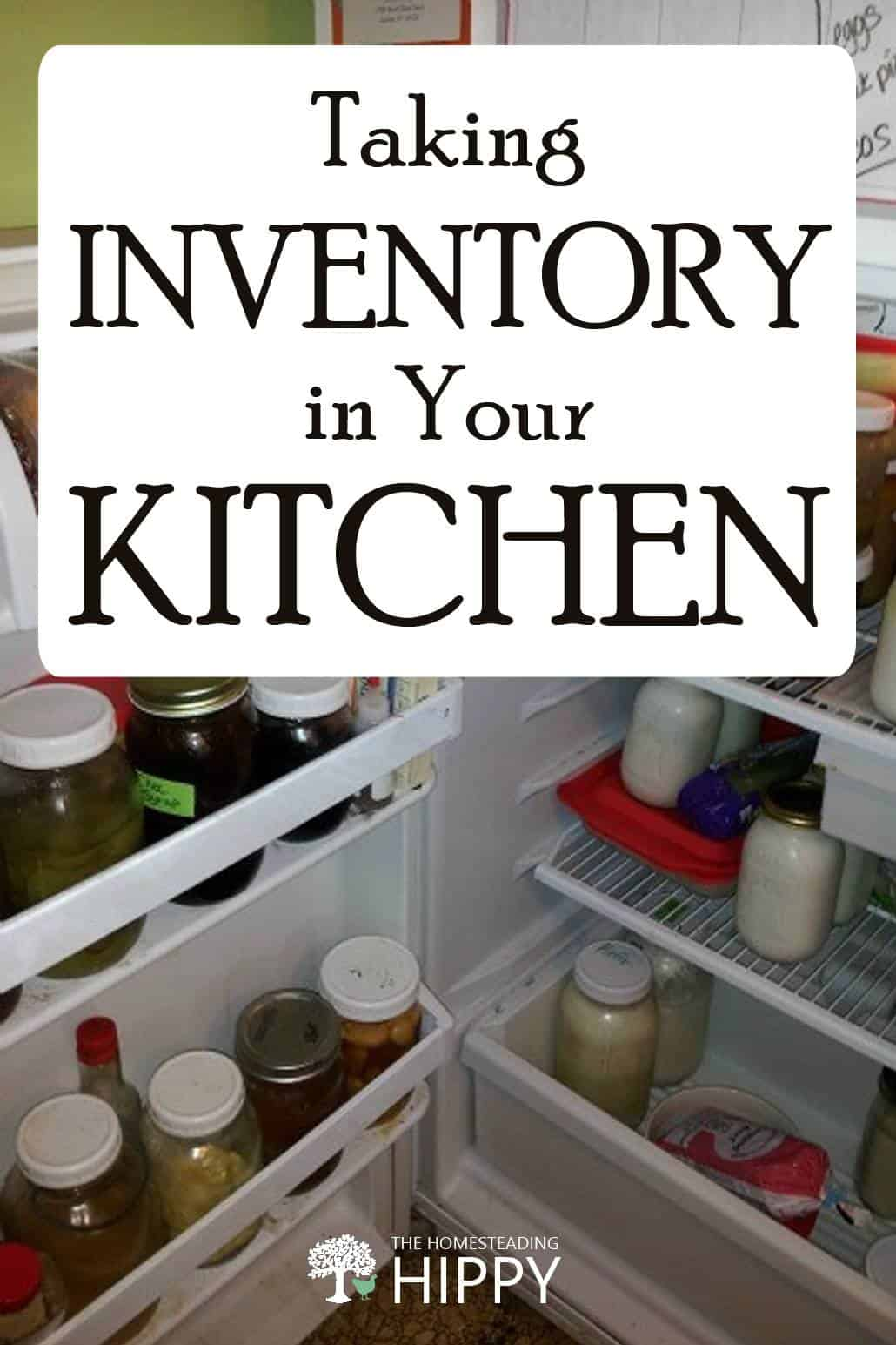 kitchen inventory pin image
