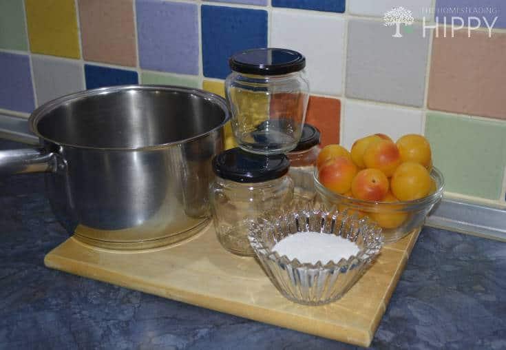 plum jam ingredients