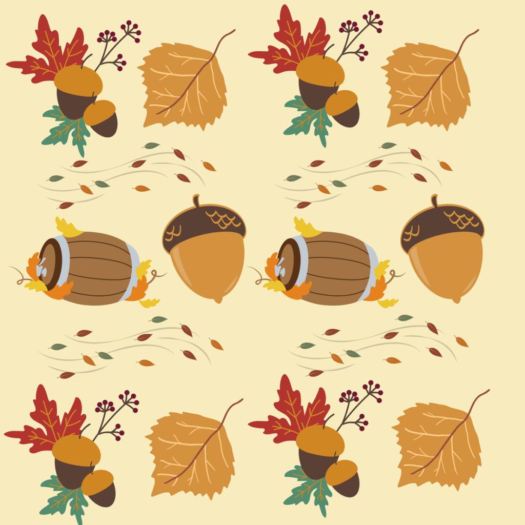 fall printable leaves